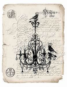 CHANDELIER with Crown Birds Antique French by ...