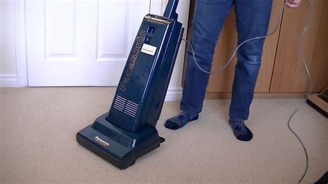 Panasonic Mc E47 Upright Vacuum Cleaner Unboxing & First