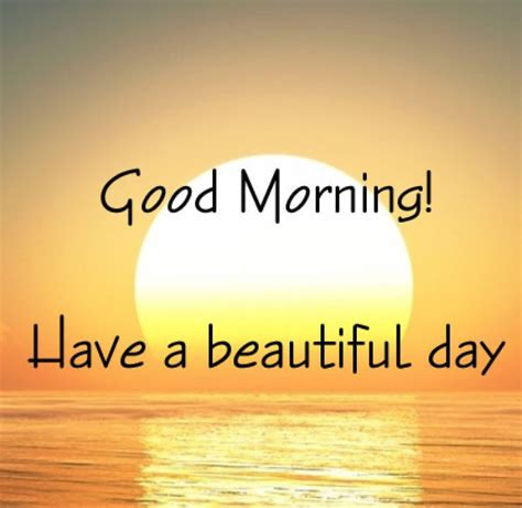 Good Morning Have A Beautiful Day Quote Pictures, Photos