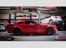 Widebody S197 Ford Mustang GT on Forgestar CF5V SDCs