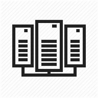 Icon Server Communication Exchange Icons Network Transfer