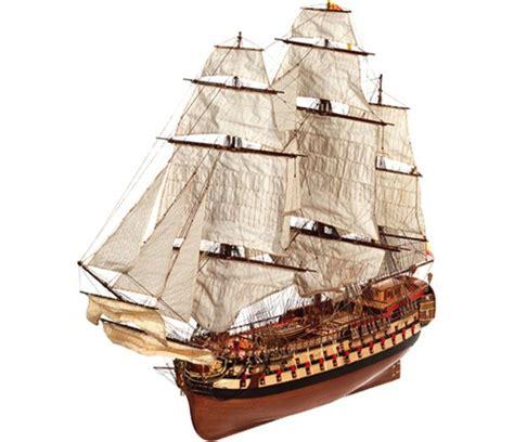 maquette bateau bois montanes occre 15000
