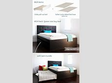 Queen size bed with twin trundle IKEA Hackers IKEA Hackers