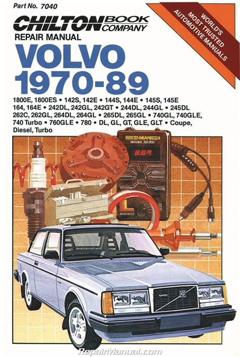 chilton car manuals free download 1996 oldsmobile 98 interior lighting chilton volvo 1970 1989 repair manual ch7040 9780801979446 ebay