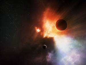 Row Planets in Space - Pics about space