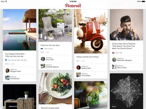 Pinterest App Gets Support for Larger iPhone 6 Screens ...