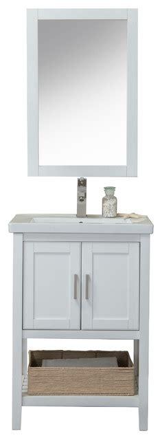 caitlin vanity  mirror faucet  basket