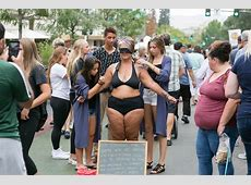 This mum stood in public in just a bikini to show that all