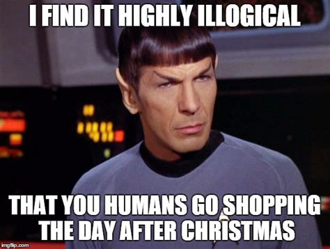 After Christmas Meme - mr spock imgflip
