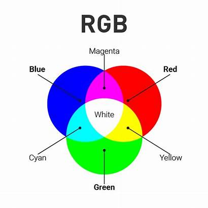 Rgb Cmyk Colour Colors Models Primary Which