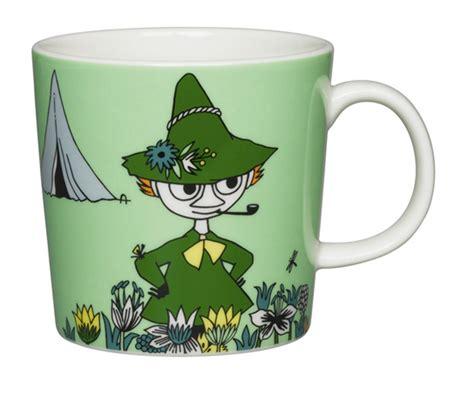 Iittala Ceramic Moomin Mug Cup Eg Snorkmaiden Moomintroll