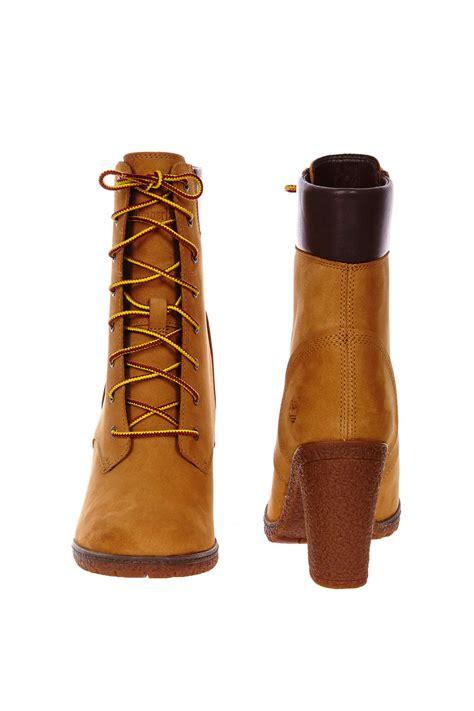 timberland boots  talons timberland glancy   jaune