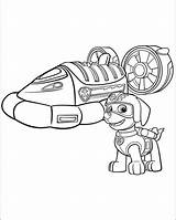 Coloring Zuma Paw Patrol Pages Pdf sketch template