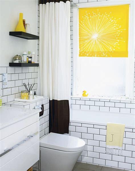 Modern Yellow Bathroom Decor by Add A Bright Splash Of Yellow To Lift A