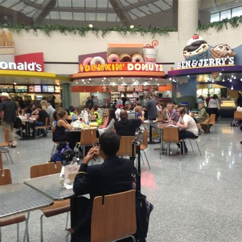 Terminal C Food Court Airport Food Court In Newark