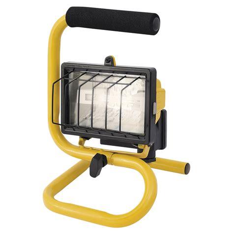 portable halogen work light arlec portable halogen worklight 150w bunnings warehouse