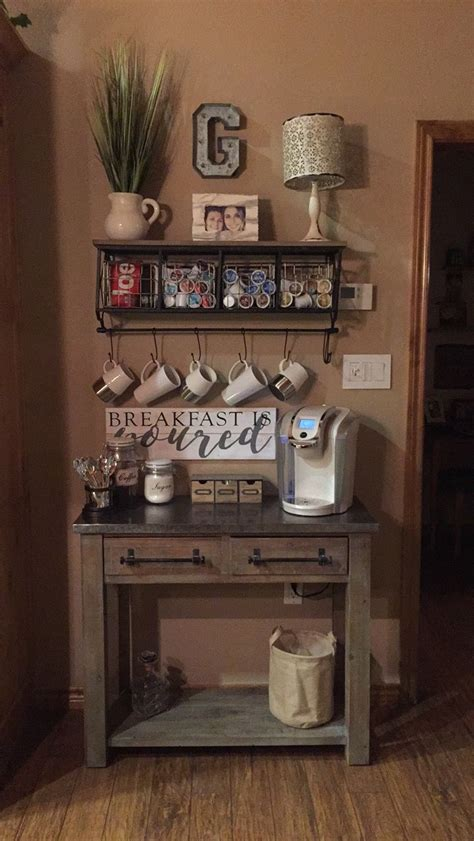 Home Coffee Bar Design Ideas by 25 Diy Coffee Bar Ideas For Your Home Stunning Pictures