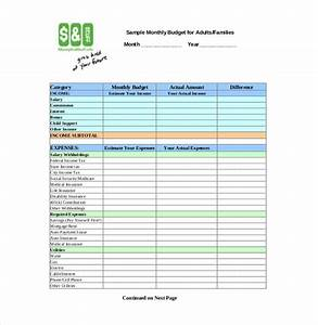 personal budget template 10 free word excel pdf With personnel budget template