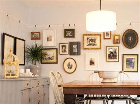 hanging art   picture rail