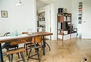 Interior Design Berlin : berlin apartment retro style modern interior design ~ Markanthonyermac.com Haus und Dekorationen