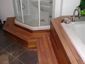 Pont De Baignoire Bois : habillage baignoire sur plancher bois ~ Premium-room.com Idées de Décoration