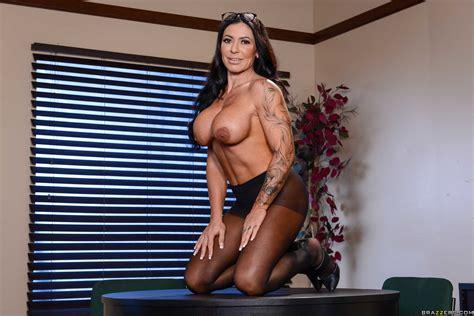 Busty Brunette Likes Sex In Her Office Photos Danny D Simone Garza MILF Fox