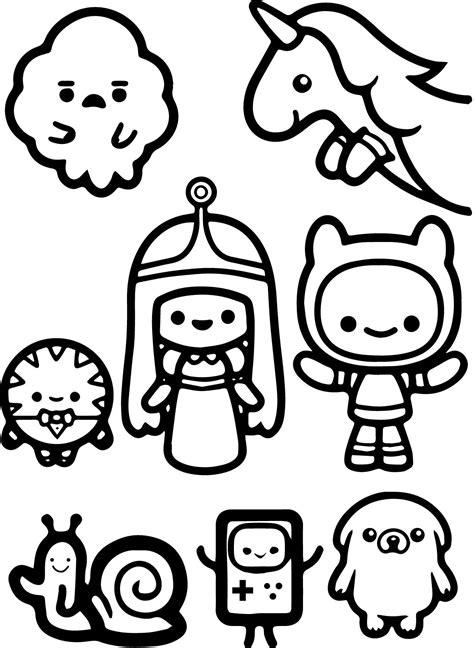 Adventure Time Funko Pop Kleurplaat by Desenho De Personagens De Hora De Aventura Chibi Para