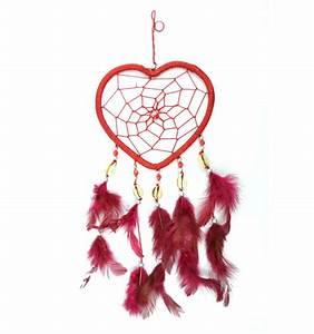 Deco Attrape Reve : attrape r ves original coeur rouge mobile d coration suspension ~ Teatrodelosmanantiales.com Idées de Décoration