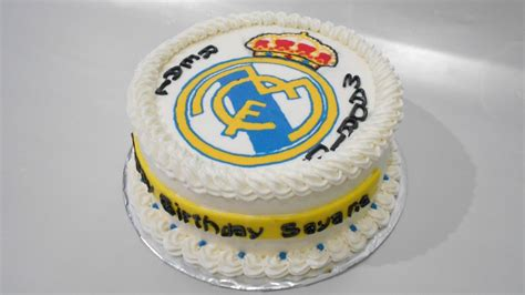 Real Madrid Cake Designs