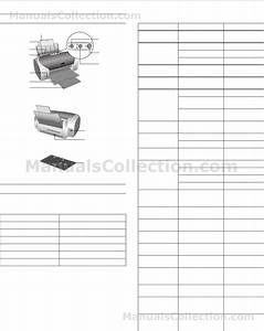 Epson Stylus Photo R200 Printer Parts  Accessories  Ink