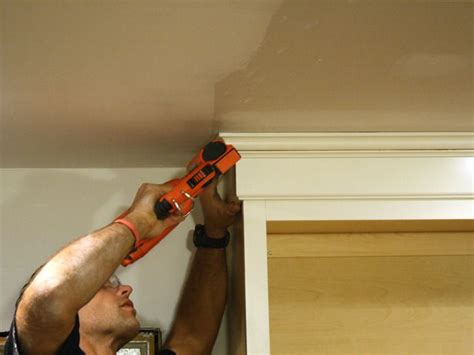 how to install cabinets in kitchen how to install cabinet crown molding awesome do it 8685
