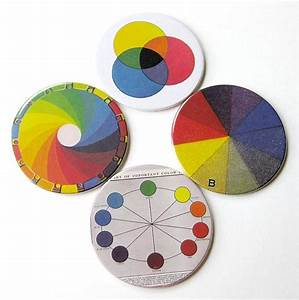 Items Similar To Science Diagram Coasters      Color  U0026 Light