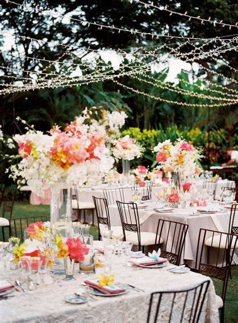 backyard wedding reception 55 backyard wedding reception ideas you ll