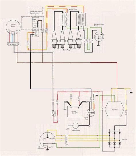 kz  bare bones wiring diagram kzrider forum kzrider kz   motorcycle
