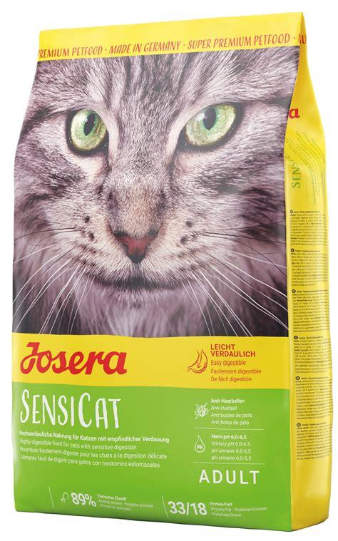 Josera SensiCat Sausā barība kaķiem ar jutīgu gemošanas ...