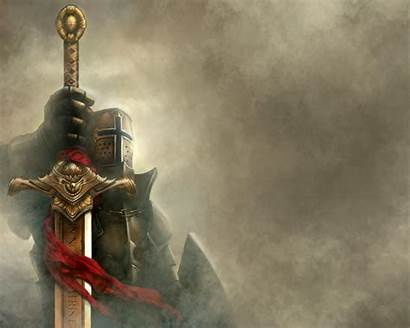 Medieval Knights Warriors Wallpapers Knight Sword