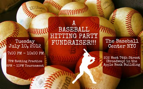 Baseball Fundraiser Flyer Template Images - Template Design Ideas