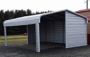 Carport Und Garage : portable metal garages styles ~ Indierocktalk.com Haus und Dekorationen
