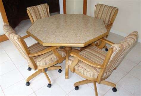 rolling dinette chairs lovely kitchen table sets with rolling chairs kitchen 1983
