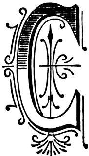 C, Ornate initial   ClipArt ETC   Clip art, Art, Tattoo