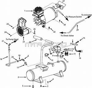 Speedaire 5f237 Air Compressor  Speedaire