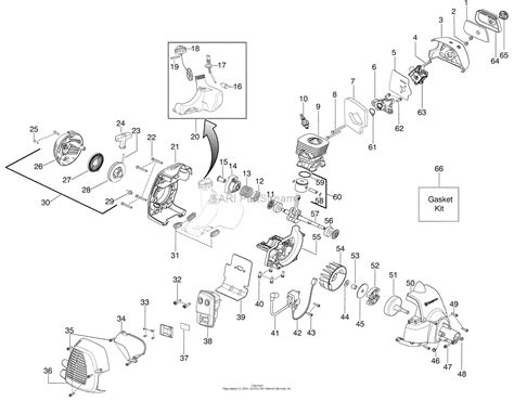L Engine Diagram by Husqvarna 128 L 2008 09 Parts Diagram For Engine