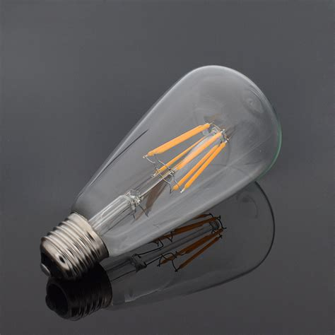 round led light bulbs e27 e14 4 16w cob led retro edison filament light bulb