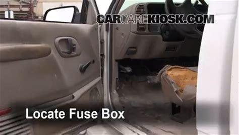Interior Fuse Box Location Gmc