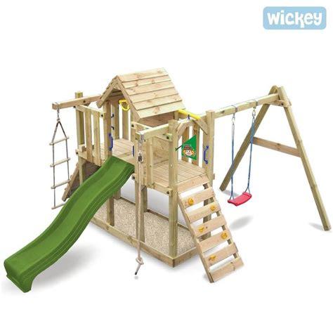 jeux en bois extérieur wickey twinstar air de jeux exterieur portique en bois ebay modules en 2019 climbing