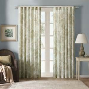 harbor house palm sheer window curtain panels