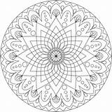 Coloring Mandala Christmas Comments Printable sketch template