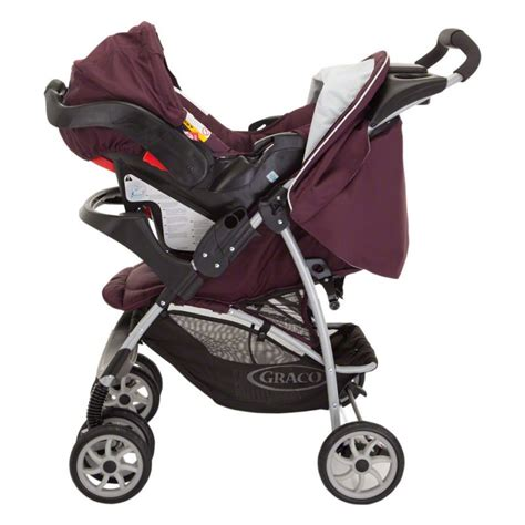 Graco Travel System Car Seat Plus Stroller   Black   Children Strollers   LandmarkShops.com