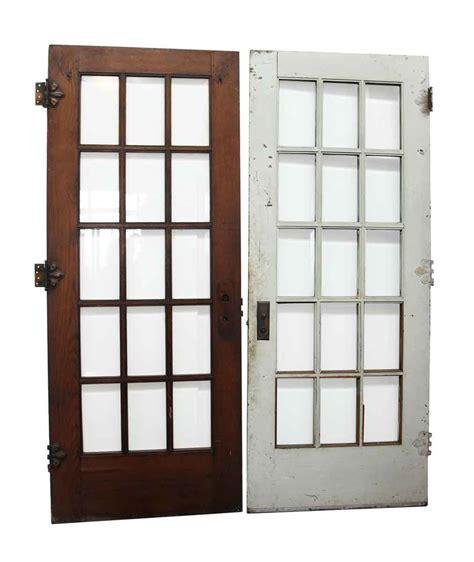 glass panel door 15 beveled glass panel door olde things