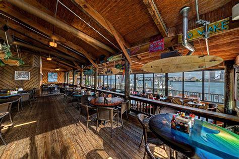grills seafood deck  tiki bar port canaveral florida
